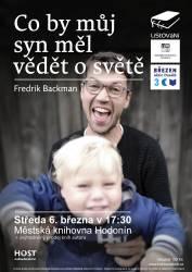 foto - LiStoVáNí - Co by můj syn měl vědět o světě (Fredrik Backman)