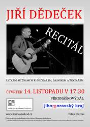 foto - Recitál Jiřího Dědečka