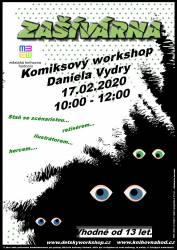 foto - O jarních prázdninách proběhne Komiksový workshop