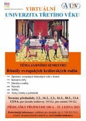 foto - Téma jarního semestru VU3V - Rituály evropských královských rodin