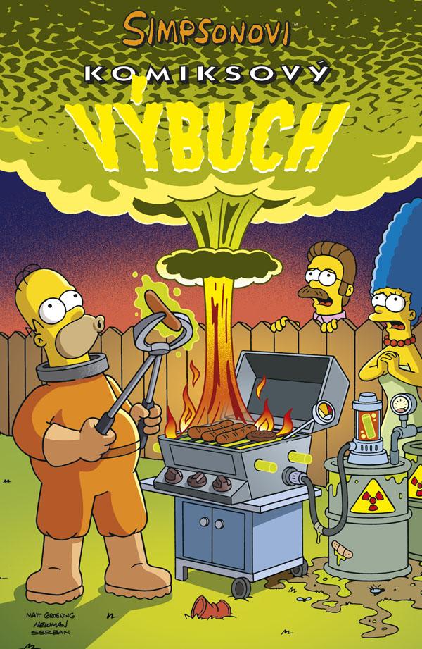 Matt Groening Simpsonovi: Komiksový výbuch