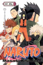 KIŠIMOTO Masaši Naruto 37: Šikamaruův boj