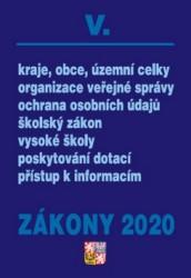 Zákony 2020 V. - Veřejná správa, Školství