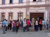 foto - Výjezdní porada knihovníků profesionálních i neprofesionálních knihoven hodonínského regionu.
